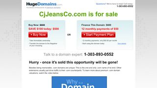 Cjjeansco.com Coupons & Promo codes