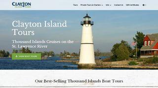 Claytonislandtours.com Coupons & Promo codes