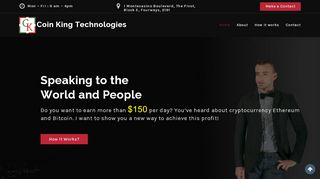 Coin King Technologies Coupons & Promo codes