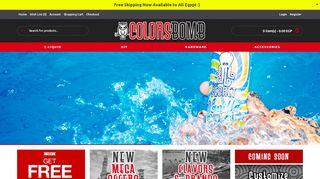 ColorsBomb.com Coupons & Promo codes