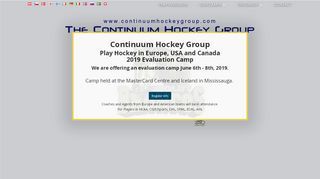 Continuum Hockey Group Coupons & Promo codes