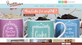 Cookiecrumbles.co.uk Coupons & Promo codes