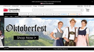 Costume Box Australia Coupon Code & Promo codes