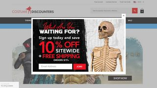 The Costume Land Coupon Code & Promo codes