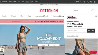 Cotton On Kids Coupons & Promo codes