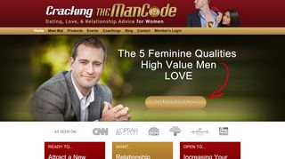 Cracking The Man Code Coupons & Promo codes