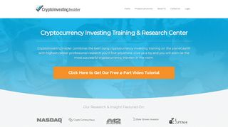 Crypto Investing Insider Coupons & Promo codes