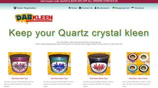 Dab Kleen Coupons & Promo codes