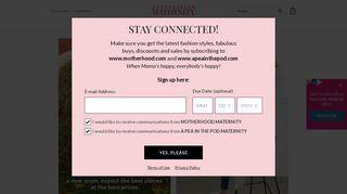 Destination Maternity stores coupon