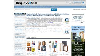 Displays4sale.com Coupons & Promo codes