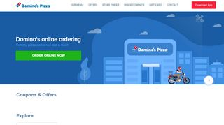 Dominos Coupons 25 Off & Promo codes