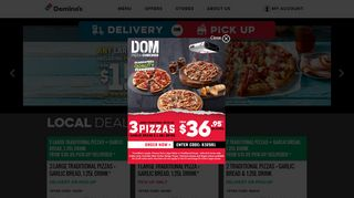 Dominos Vouchers & Coupon codes
