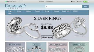 Dreamland Jewelry Coupon Code & Promo codes