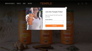 Temple Turmeric Coupons & Promo codes