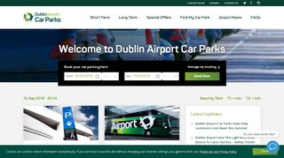 Dublin Airport Parking Discount Code & Coupon codes