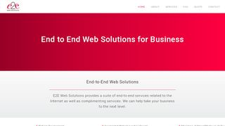 e2e Web Solutions Coupons & Promo codes