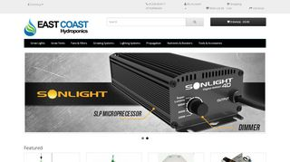 East Coast Hydroponics Coupons & Promo codes