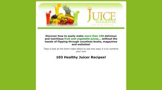 Juice Recipes Coupons & Promo codes