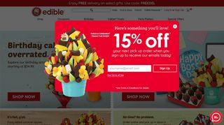 edible arrangements promo code 2020