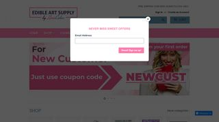 Edible Art Supply Coupons & Promo codes