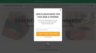 coupons for flashcards