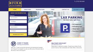 Fox Parking Lax Coupon & Promo codes