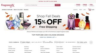 Fragrancex Canada Coupons & Promo codes