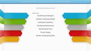 Gardenersheaven.co.uk Coupons & Promo codes