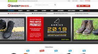 Logo Ghostbikes.com