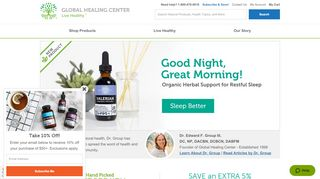 Global Healing Center Coupon Code & Promo codes