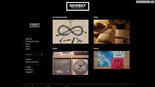 Goawayrecs.storenvy.com Coupons & Promo codes