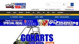 Gokarts USA - Buyer Beware