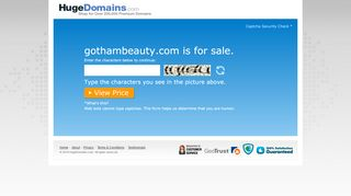 Gothambeauty.com Coupons & Promo codes