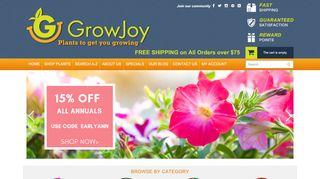 GrowJoy Coupons & Promo codes