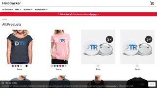 Halotracker.spreadshirt.com Coupons & Promo codes