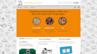 Happymugcoffee.com Coupons & Promo codes