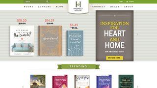 Harvesthousepublishers.com Coupons & Promo codes