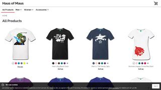 Hausofmaus.spreadshirt.com Coupons & Promo codes