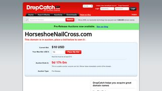 Horseshoenailcross.com Coupons & Promo codes