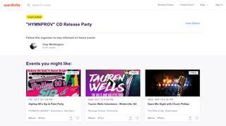 Hymnprovrelease.eventbrite.com Coupons & Promo codes