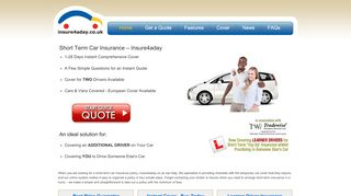 Insure 4 a Day UK stores coupon