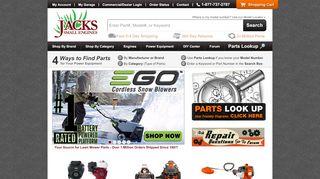 Jacks Small Engine Coupon Code & Promo codes