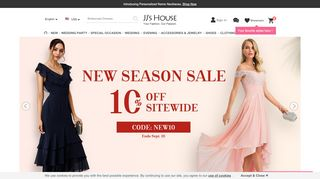 Jjshouse Coupon Code & Promo codes