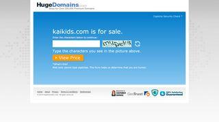 Kaikids.com Coupons & Promo codes