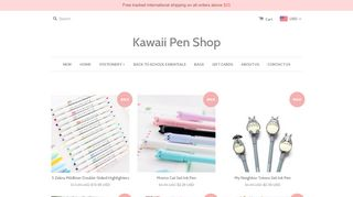Kawaii Pen Shop Discount Code & Coupon codes