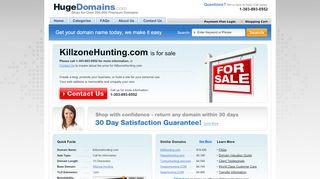 Killzonehunting.com Coupons & Promo codes