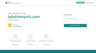 Labelnewyork.com Coupons & Promo codes