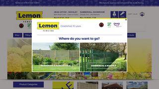 Lemonfencing.co.uk Coupons & Promo codes