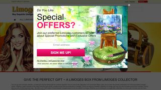 Limogesboxcollector.com Coupons & Promo codes