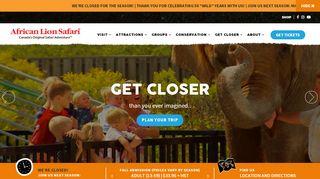 African Lion Safari Coupon Costco & Promo codes